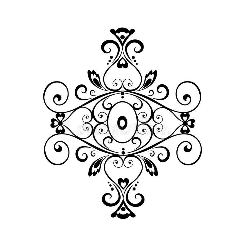 Ornamento d'annata illustrazione vettoriale