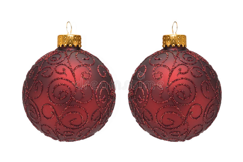 Ornamento da árvore de Natal mim fotografia de stock
