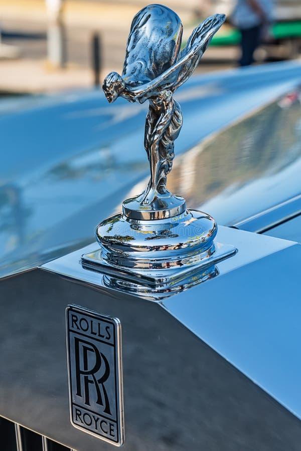 Ornamento da capa da êxtase de Rolls Royce 'espírito ' imagem de stock royalty free
