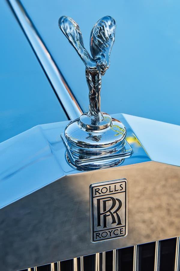 Ornamento da capa da êxtase de Rolls Royce 'espírito ' fotos de stock royalty free