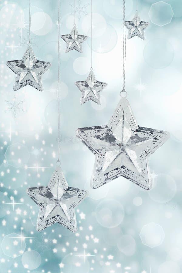Ornamento da estrela do Natal foto de stock royalty free