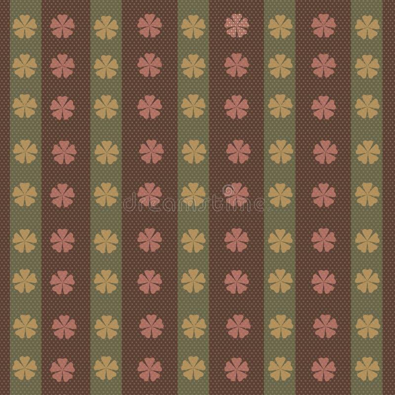 ornamento das flores ilustração stock