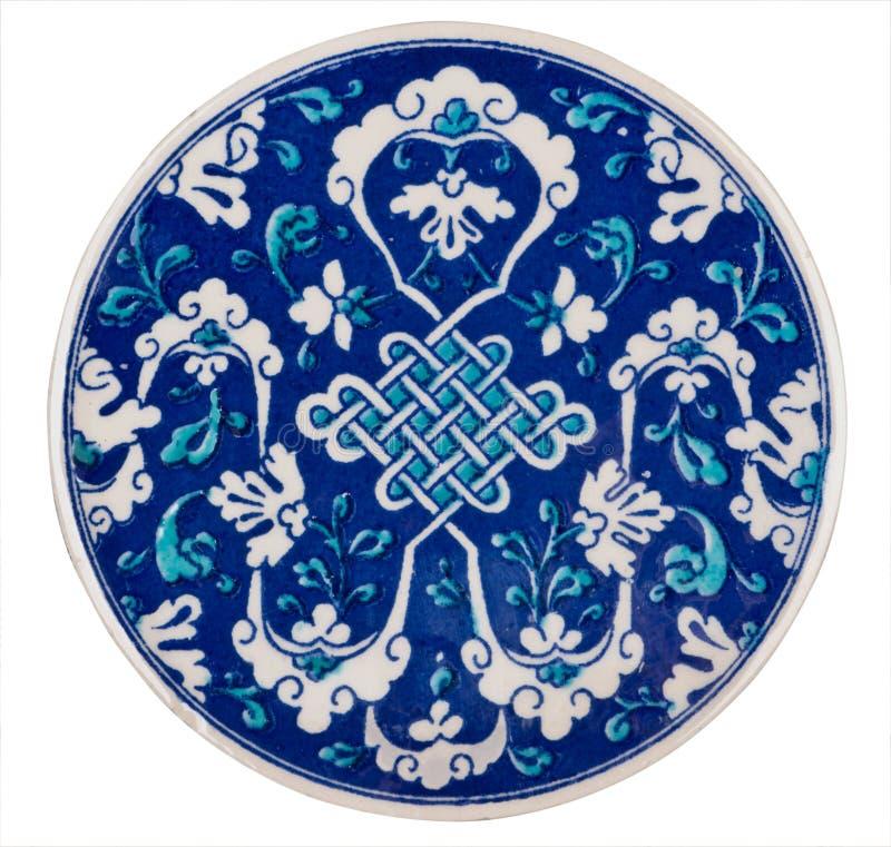 Ornamento de cerámica fotos de archivo libres de regalías