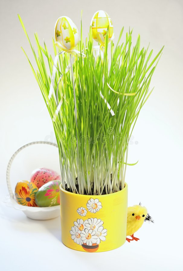Ornamento de Easter foto de stock