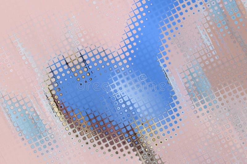 Ornamento de la geometr?a Extracto m?gico moderno gr?fico libre illustration