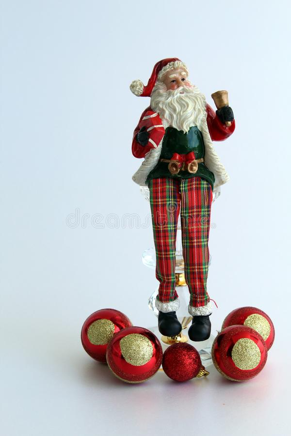 Ornamento de la Navidad, Santa Claus imagen de archivo libre de regalías