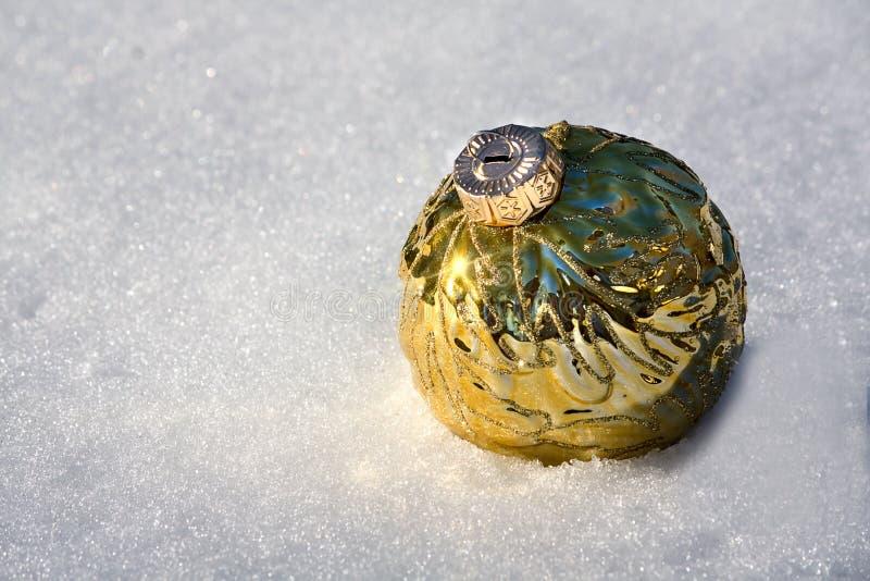 Ornamento de la nieve imagen de archivo