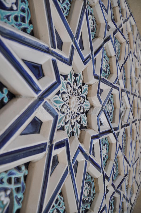 Ornamento de Médio Oriente imagens de stock royalty free