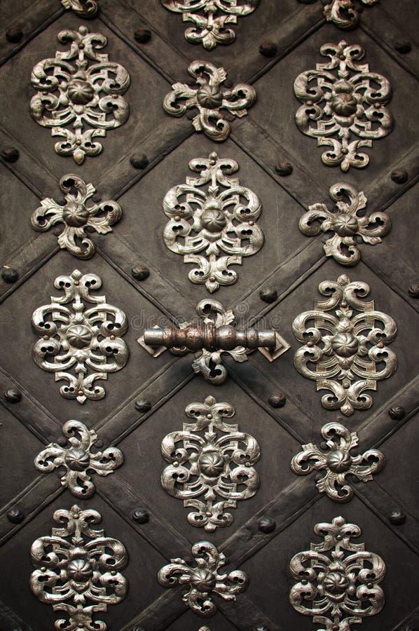 Ornamento de metal de la vendimia fotos de archivo libres de regalías