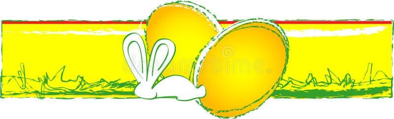 Ornamento de Pascua stock de ilustración