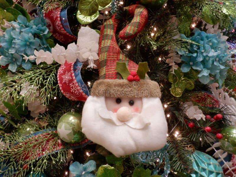 Ornamento de Santa Cláusula imagen de archivo libre de regalías