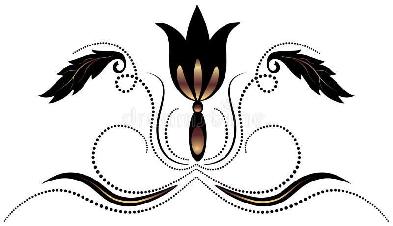 Ornamento decorativo ilustração royalty free