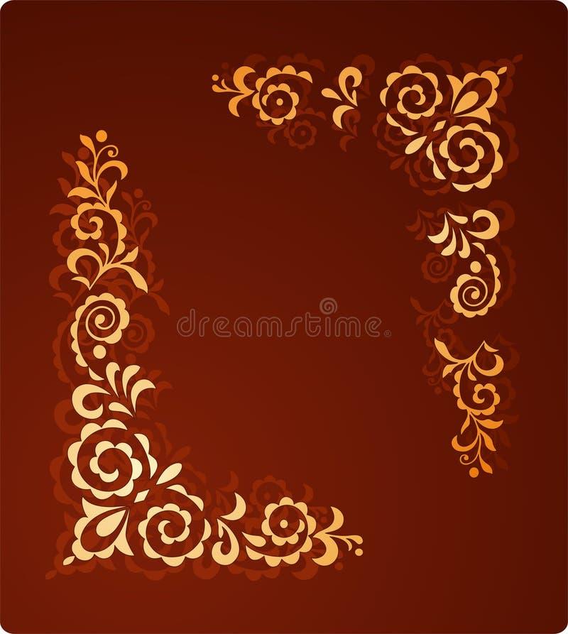 Ornamento decorativo royalty illustrazione gratis
