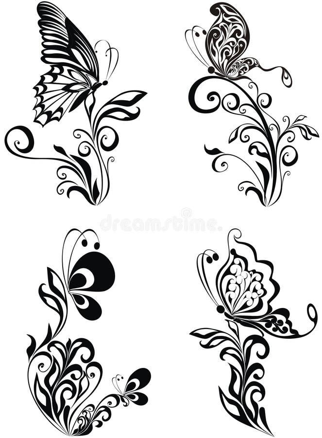 Ornamento decorativo. stock de ilustración