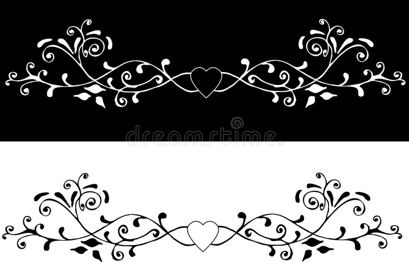 Ornamento decorativo 2 illustrazione vettoriale