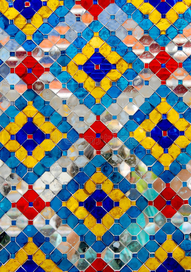 Ornamento decorativo de los azulejos. Foto foto de archivo