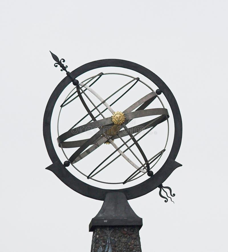 Ornamento decorativo del tetto fotografie stock libere da diritti