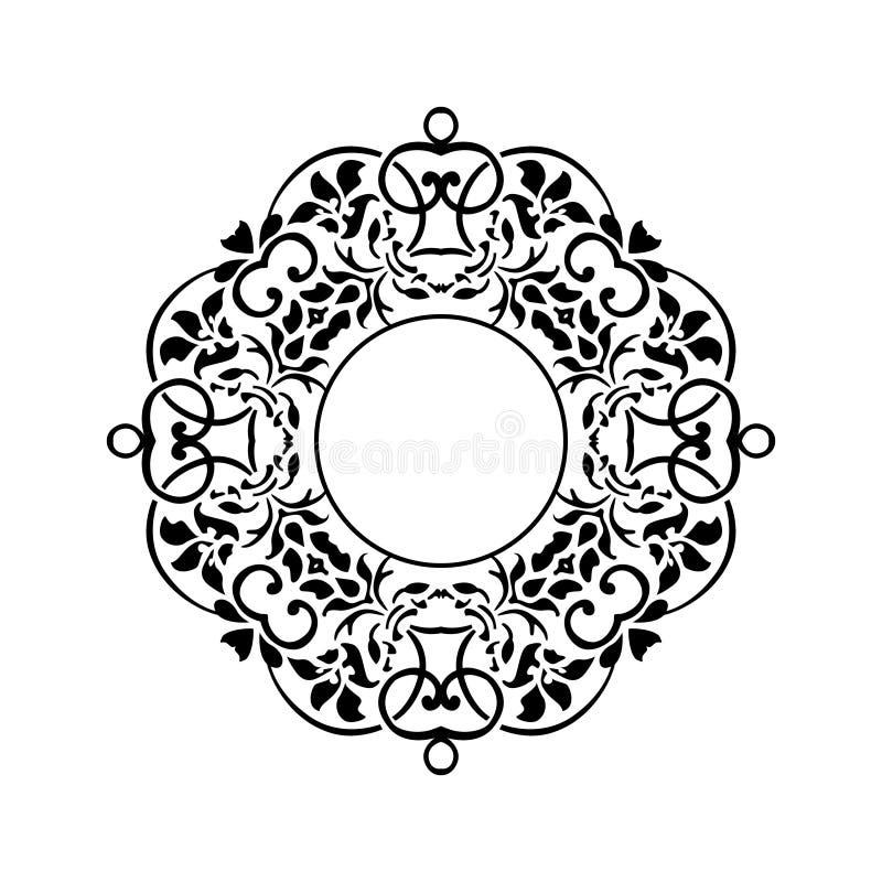Ornamento decorativo do desenho criativo do vetor fotos de stock royalty free
