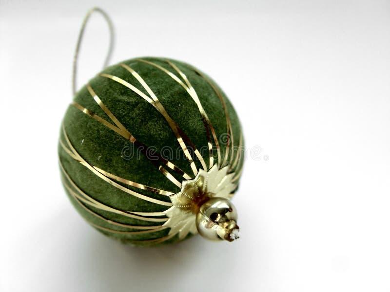 Ornamento del árbol de navidad foto de archivo