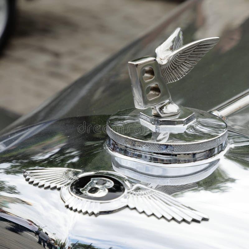 Ornamento del cappuccio di Bentley Mark VI 1946†«1952 immagini stock libere da diritti