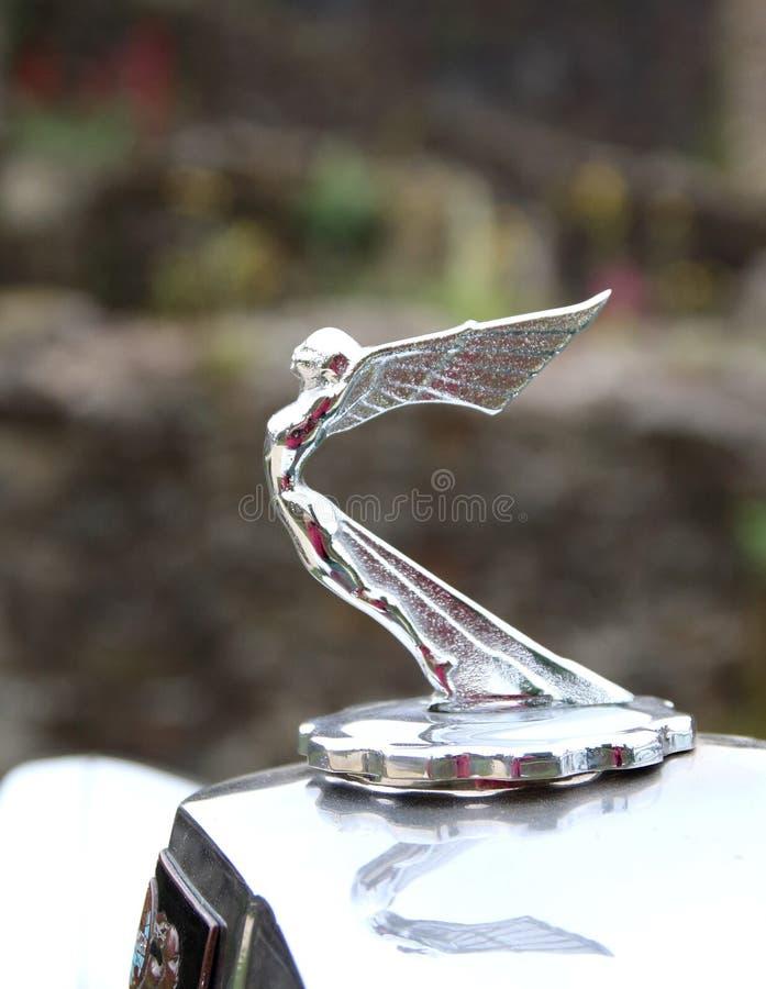 Ornamento del cappuccio di Triumph fotografia stock
