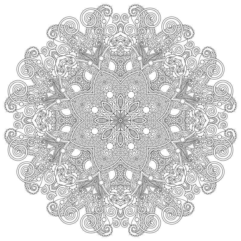 Ornamento del cordón del círculo, geométrico ornamental redondo libre illustration