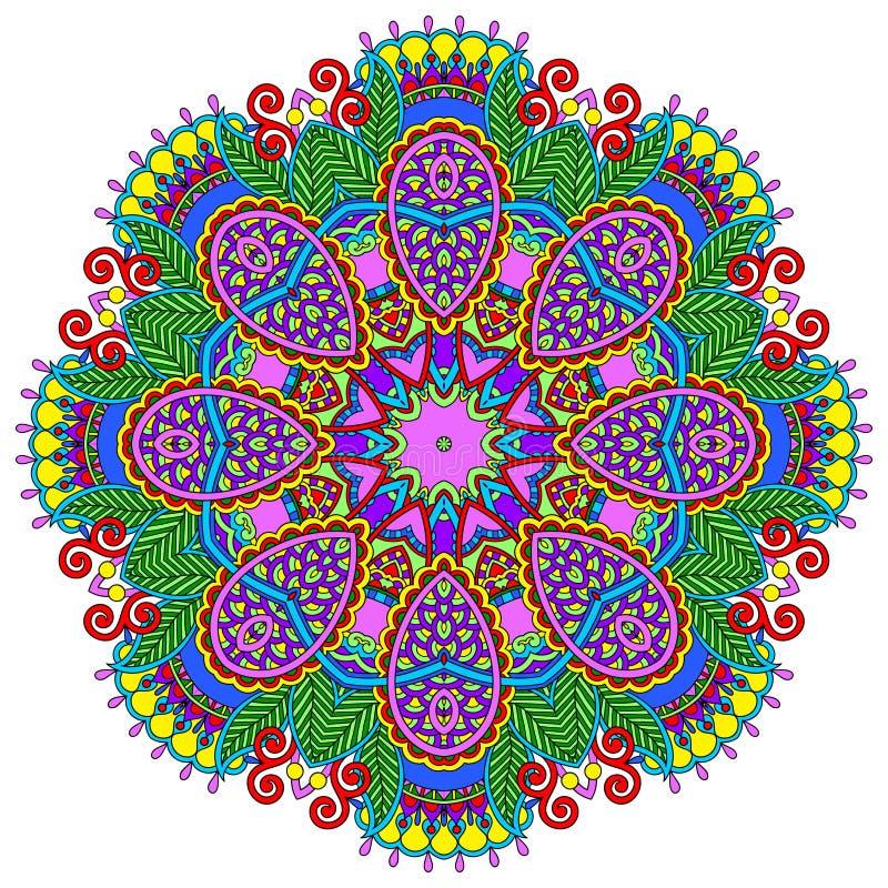 Download Ornamento Del Cordón Del Círculo, Geométrico Ornamental Redondo Ilustración del Vector - Ilustración de línea, flor: 44851621