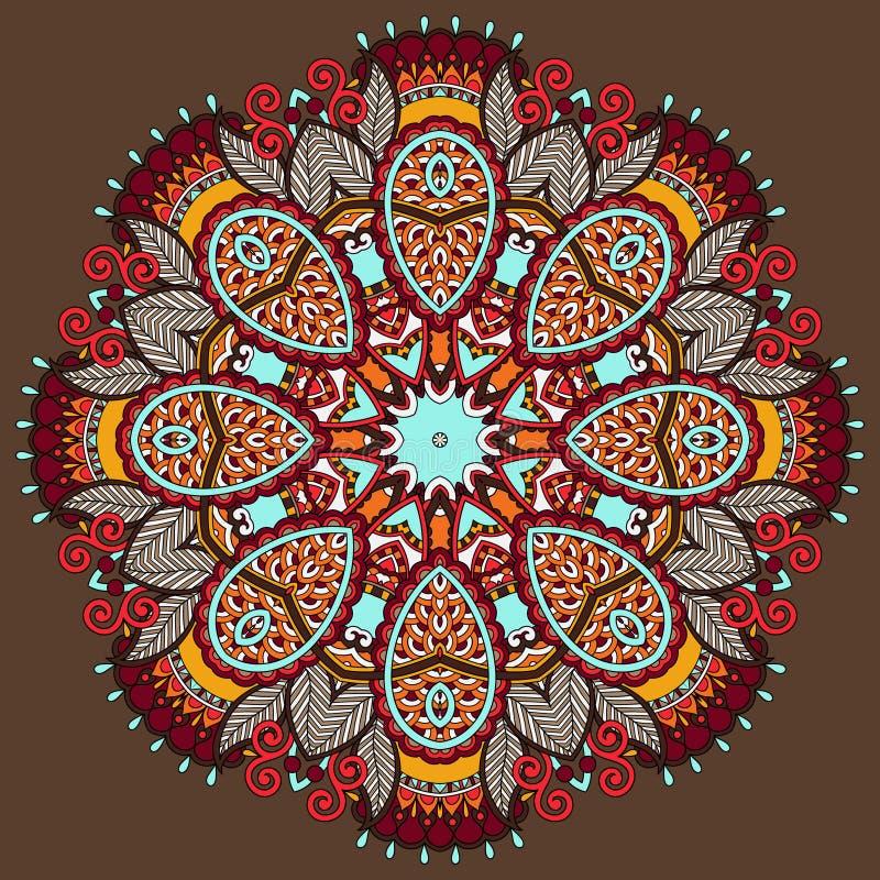 Download Ornamento Del Cordón Del Círculo, Geométrico Ornamental Redondo Ilustración del Vector - Ilustración de aislado, arte: 44851677