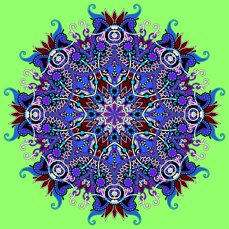 Download Ornamento Del Cordón Del Círculo, Geométrico Ornamental Redondo Ilustración del Vector - Ilustración de macro, ornamental: 44854705