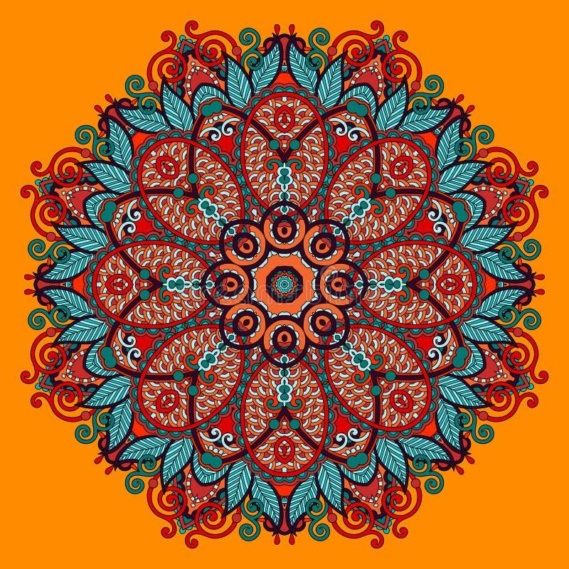 Download Ornamento Del Cordón Del Círculo, Geométrico Ornamental Redondo Ilustración del Vector - Ilustración de viejo, arabesque: 44855523