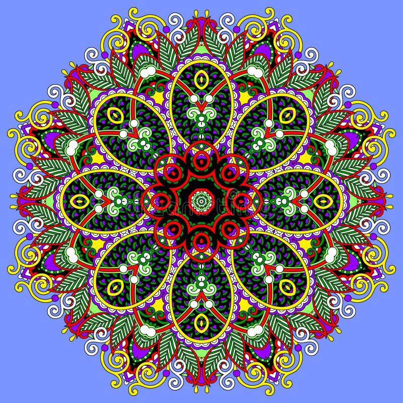 Download Ornamento Del Cordón Del Círculo, Geométrico Ornamental Redondo Ilustración del Vector - Ilustración de viejo, adornado: 44855532