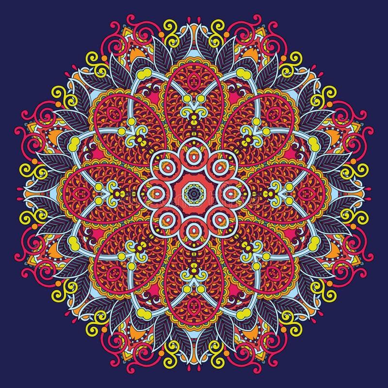Download Ornamento Del Cordón Del Círculo, Geométrico Ornamental Redondo Ilustración del Vector - Ilustración de arte, antiguo: 44855545