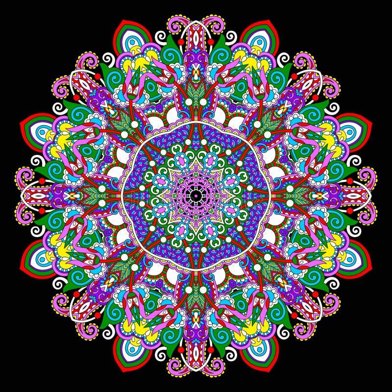 Download Ornamento Del Cordón Del Círculo, Geométrico Ornamental Redondo Ilustración del Vector - Ilustración de ornamento, floral: 44855980