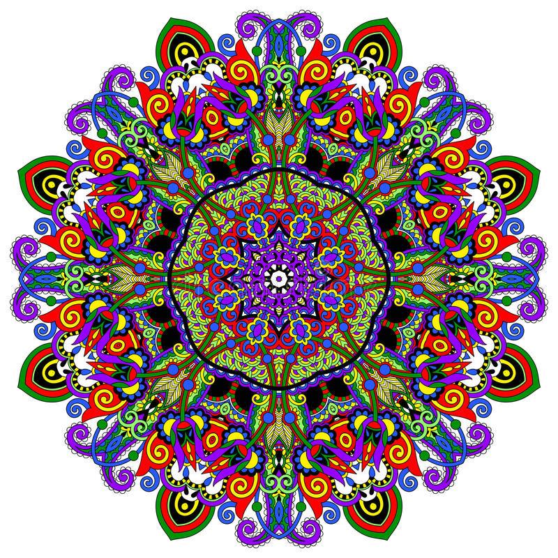 Download Ornamento Del Cordón Del Círculo, Geométrico Ornamental Redondo Ilustración del Vector - Ilustración de geométrico, antiguo: 44855995