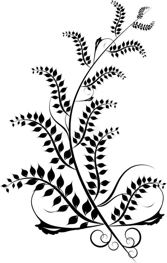 Ornamento del diseño ilustración del vector