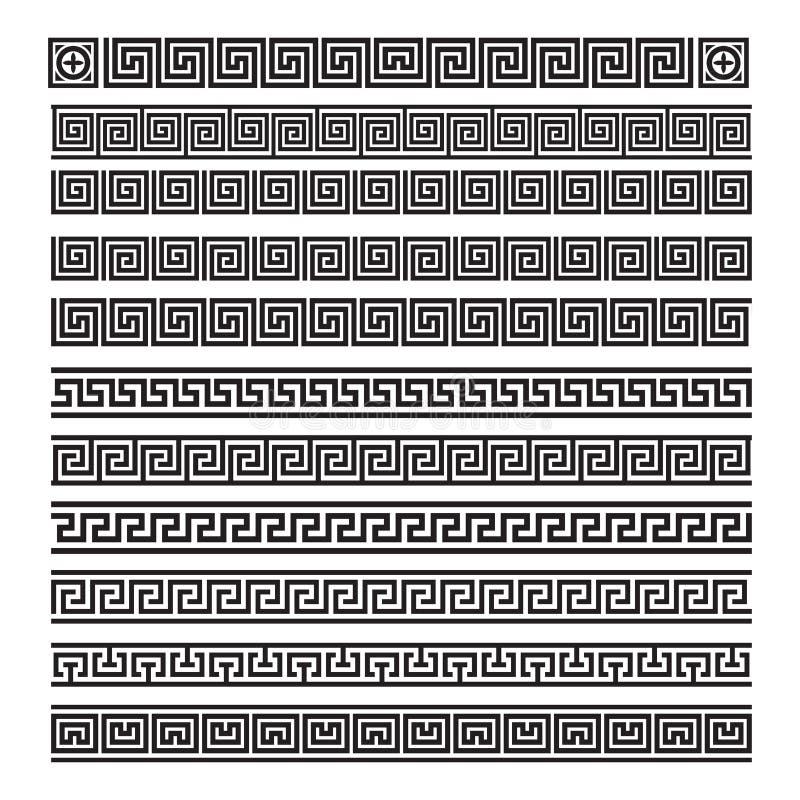 Ornamento del Griego del vector stock de ilustración