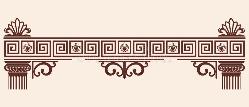 Ornamento del Griego del vector ilustración del vector