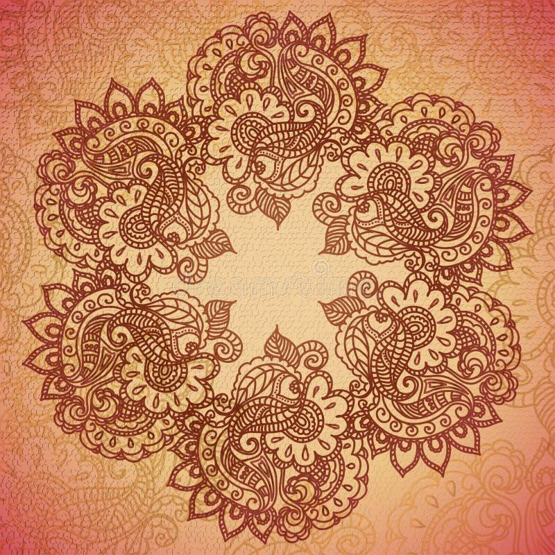 Mandala libre illustration
