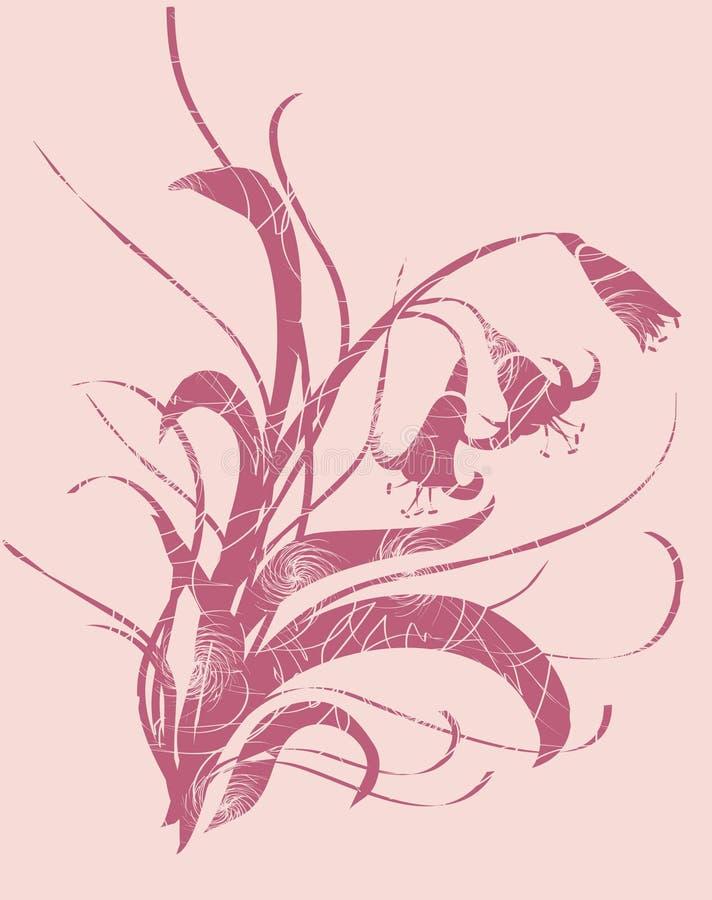 Ornamento del lirio imágenes de archivo libres de regalías