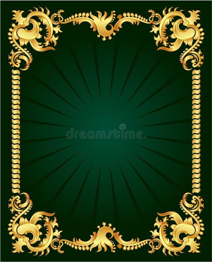 Ornamento del oro libre illustration