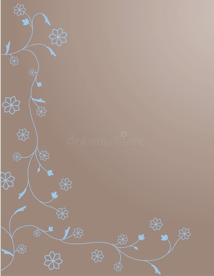 Download Ornamento Del Remolino De La Flor Ilustración del Vector - Ilustración de extracto, frontera: 7287920