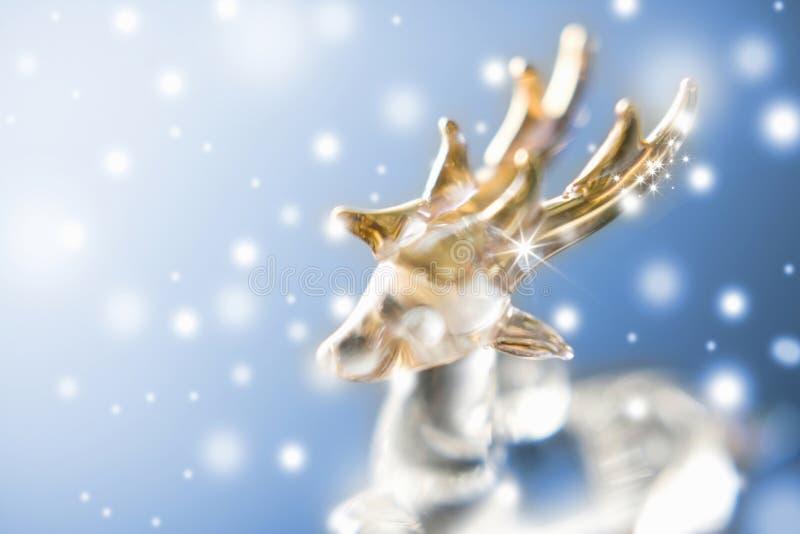 Ornamento del reno imagen de archivo libre de regalías