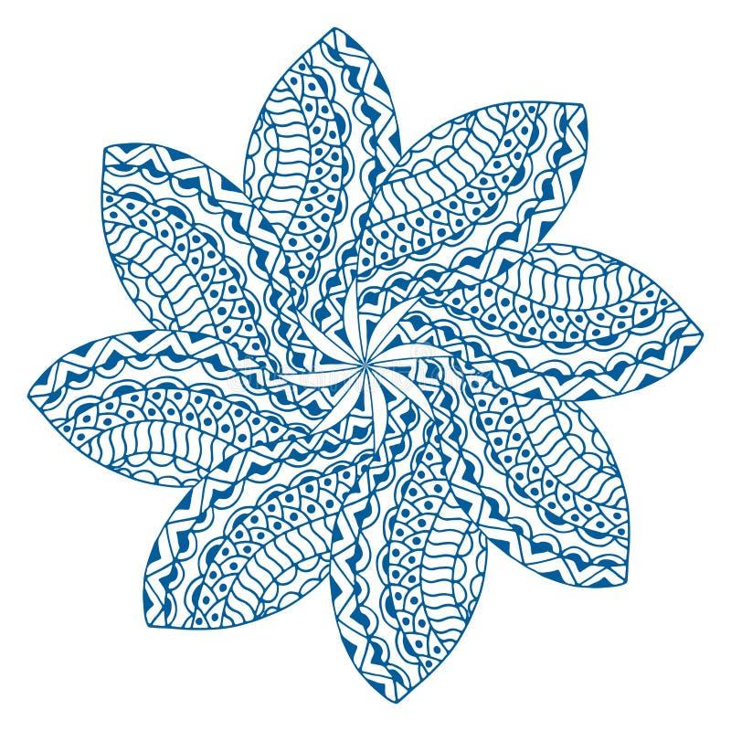 Ornamento del rosetón libre illustration