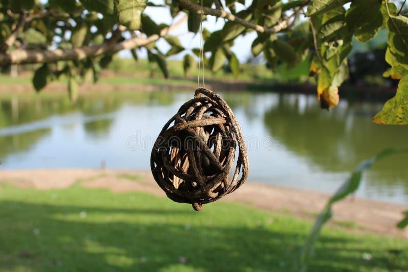 Ornamento dell'albero fotografia stock