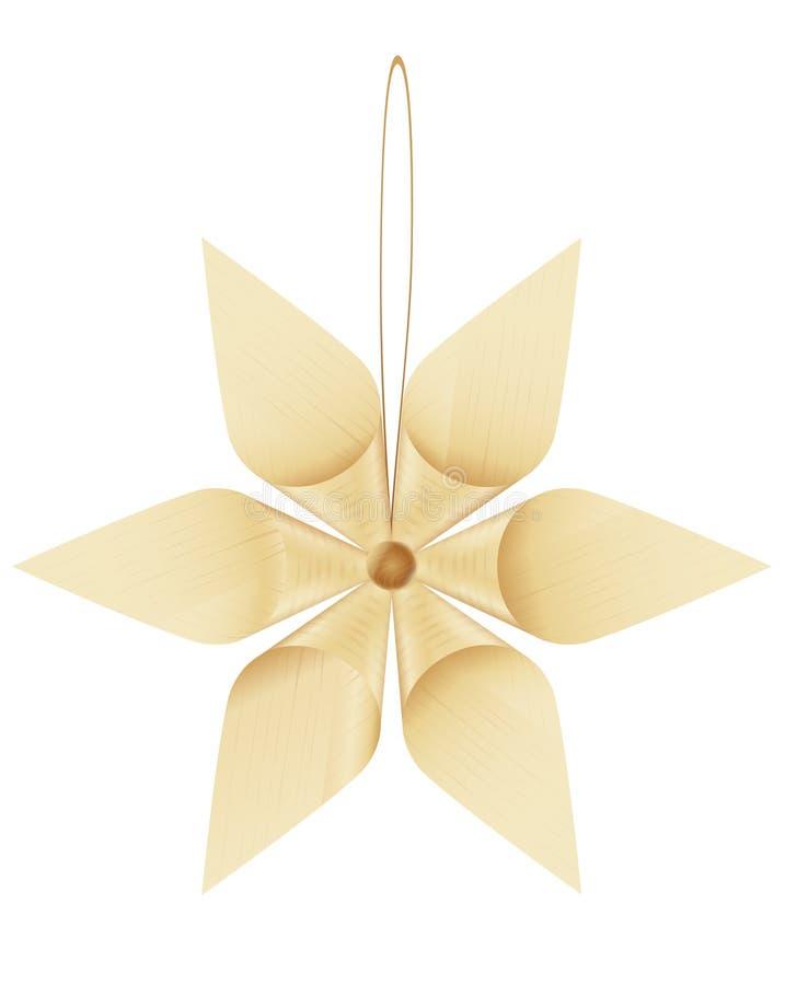 Ornamento dell'albero di Natale illustrazione di stock