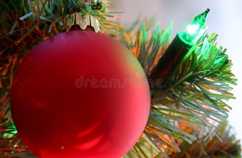 Ornamento dell'albero di Natale immagini stock