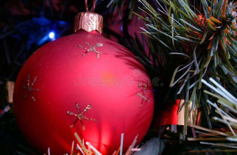 Ornamento dell'albero di Natale fotografia stock