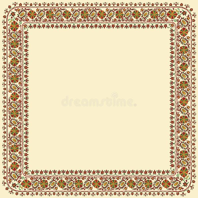 Ornamento dello Slavic royalty illustrazione gratis