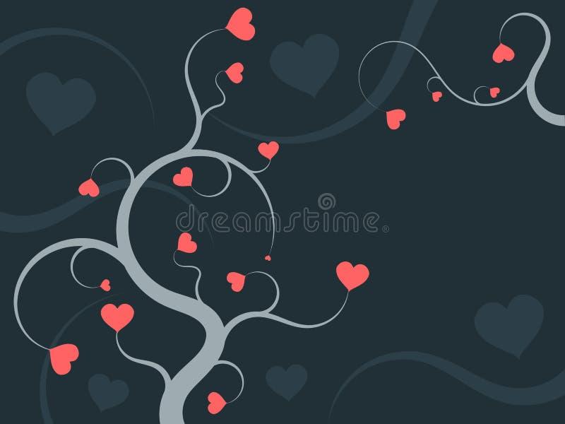 Ornamento di amore illustrazione vettoriale