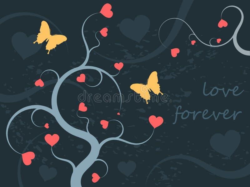 Ornamento di amore royalty illustrazione gratis